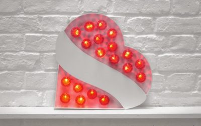 Own a mini version of Vowed & Amazed! light up letters and signs!
